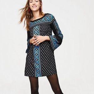 NWT • Ann Taylor LOFT • Tunic Print Dress